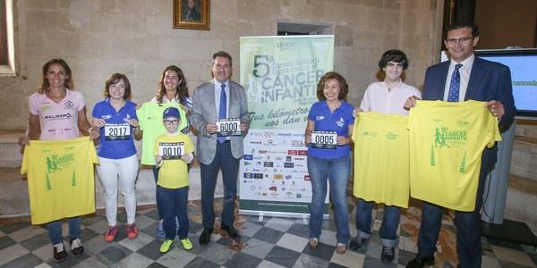 6.000 corredores participarán este domingo en la Carrera Solidaria contra el Cáncer Infantil 'Tus kilómetros nos dan vida'
