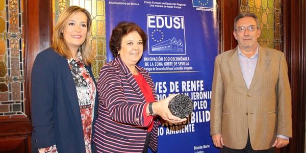 774.000 euros para un modelo de pavimentación de la Ronda Urbana Norte que reducirá la contaminación acústica y medidas que incrementen la seguridad vial