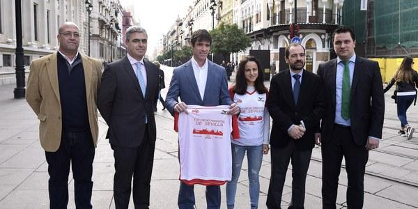 9.000 corredores participan este domingo en el EDP Medio Maratón de Sevilla 2018