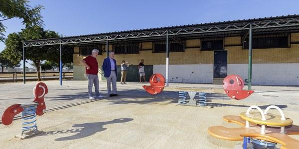 (9/10/2017) El Ayuntamiento culmina las mejoras y supresión de barreras arquitectónicas en el CEIP San José de Palmete