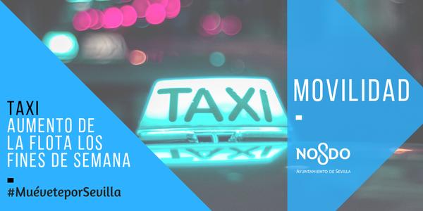 Aprobado el aumento de la flota de taxis para los fines de semana