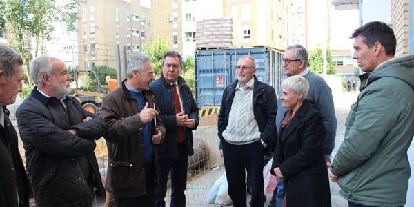 Arrancan las obras para la reurbanización completa del barrio de San Carlos en el Distrito San Pablo-Santa Justa impulsadas por el Ayuntamiento con un importe de licitación de 1,4 millones de euros
