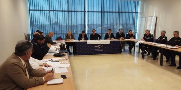 Ayuntamiento, Gobierno y Junta de Andalucía preparan ya el dispositivo para las Fiestas de la Primavera centrando la atención en los cambios de recorrido y horarios del Martes  Santo y de la Madrugada