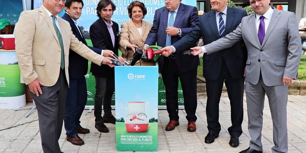 Carmen Castreño clausura la campaña 'Dona vida al Planeta', que finaliza en Sevilla en el Día Mundial del Medio Ambiente tras visitar más de 120  municipios por toda Andalucía