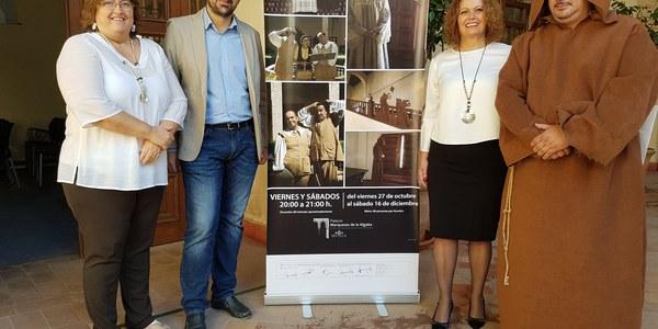 Casi 650 personas participarán en las visitas teatralizadas en el Palacio Marqueses de la Algaba, que comienzan este fin de semana
