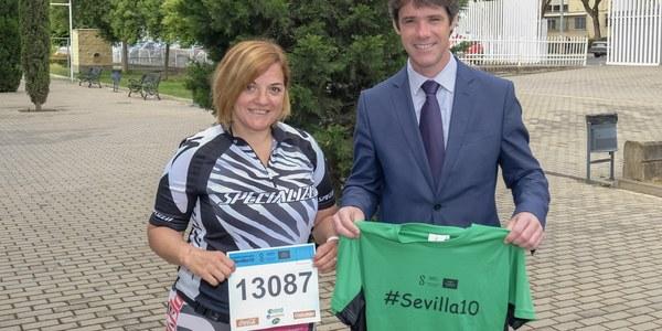 Casi 9.000 corredores participan en la Carrera Popular Parque de Miraflores, última prueba del circuito Sevilla10 antes del verano