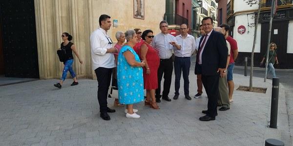 Concluye la primera fase de reurbanización de San Román y su entorno