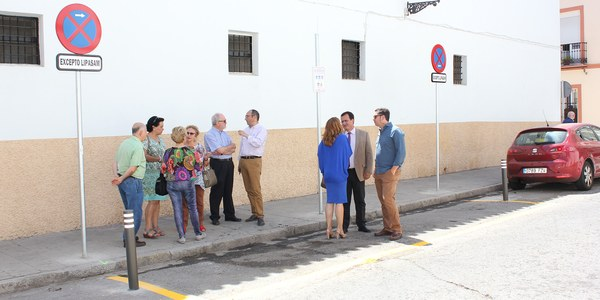 Continúa la prueba piloto para la recogida selectiva de residuos en zonas del Casco Antiguo, ahora en la Plaza del Cronista