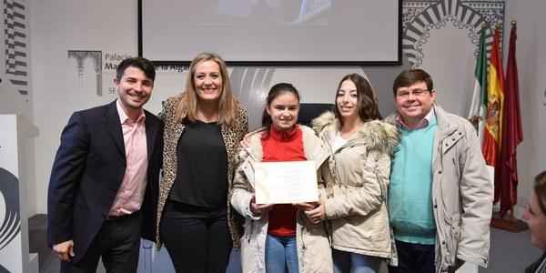 Entrega de premios del III Concurso de Producciones Artísticas '+Igualdad-Violencia'