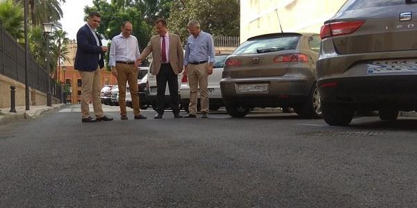 Culminan las obras de renovación de redes y pavimentación de la calle Temprado