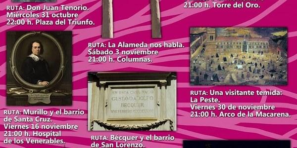 El Distrito Casco Antiguo pone en marcha el programa de rutas teatralizadas por el centro 'Sevilla te cuenta su historia'