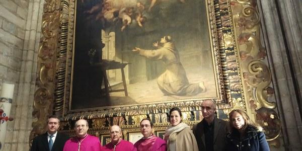 El alcalde asiste a la inauguración de 'Murillo en la Catedral de Sevilla, la mirada de la Santidad', la tercera exposición enmarcada en la celebración del cuarto centenario del nacimiento del pintor
