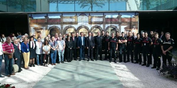 El alcalde inaugura las XXVII Jornadas Nacionales de Sanitarios de Bomberos y destaca las 16.701 intervenciones de este servicio municipal en Sevilla en los últimos diez años