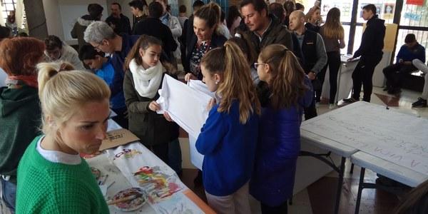 El alumnado del IES Julio Verne participa en las actividades organizadas por el Ayuntamiento para celebrar el Día Internacional contra la Discriminación Racial