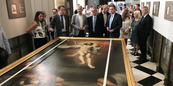 El Archivo de Indias acogerá a partir del jueves la exposición 'Murillo en el Archivo de Indias' con tres obras cedidas por la Real Academia de Bellas Artes de San Fernando para celebrar la efeméride