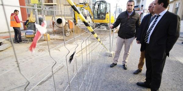 El Ayuntamiento acomete obras de mejora de la accesibilidad en la zona de San Julián del Distrito Casco Antiguo