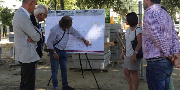 El Ayuntamiento acomete obras para mejorar la accesibilidad en el barrio de Heliópolis por valor de 100.000 euros