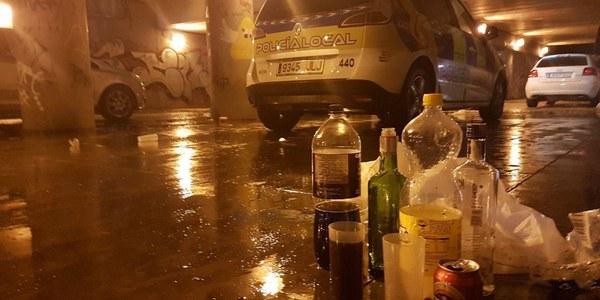 El Ayuntamiento activa este fin de semana el dispositivo especial de inspección de establecimiento y contra el consumo de alcohol en la vía pública