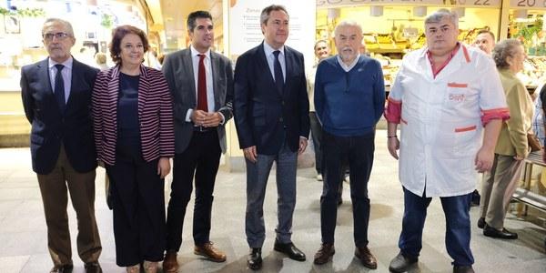 El Ayuntamiento apoya la creación de la Federación de Mercados de Abastos de Sevilla para desarrollar estrategias  de impulso a la actividad