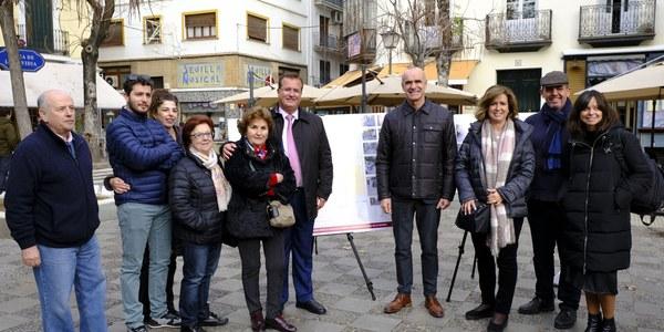 El Ayuntamiento aprueba la reurbanización de Baños como eje peatonal y comercial con plataforma única, arbolado y mobiliario urbano