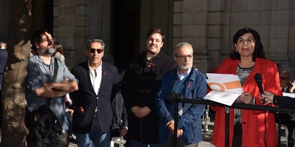 El Ayuntamiento celebra el Día Mundial de la lucha contra el SIDA con entidades y asociaciones