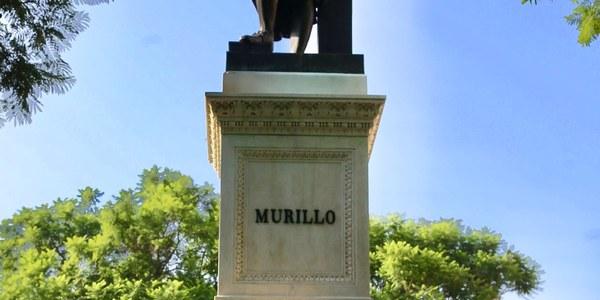 El Ayuntamiento concluye la restauración del monumento a Murillo de la Plaza del Museo