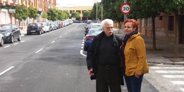 El Ayuntamiento concluye las obras de mejora de cuatro calles del Tiro de Línea con una inversión de 328.000 euros