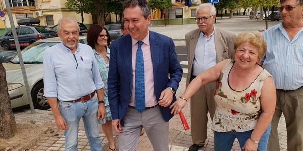El Ayuntamiento concluye una  nueva inversión en el Tiro de Línea con la reurbanización de la calle Puebla de las Mujeres tras una inversión de 570.000 euros