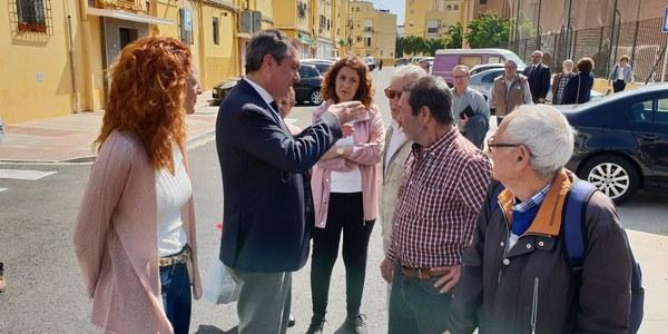 El Ayuntamiento culmina la inversión en la Barzola e inicia un nuevo proyecto de reurbanización y renovación de redes de abastecimiento y saneamiento en El Cerezo