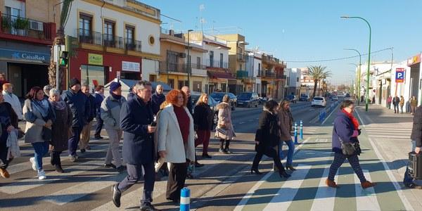El Ayuntamiento culmina la reurbanización completa de la Avenida de Pero Mingo dentro de un plan de inversión de más de 10 millones de euros en Torreblanca