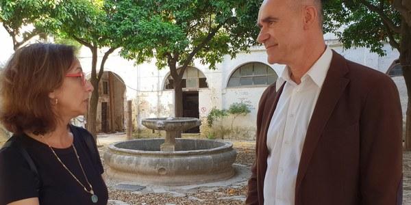 El Ayuntamiento culmina una nueva inversión en obras para la conservación del convento de Santa Clara licitadas por un importe de 140.000 euros