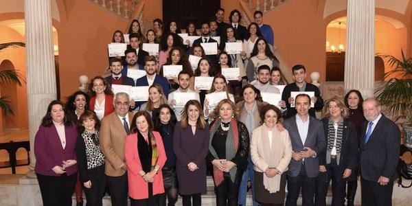 El Ayuntamiento de Sevilla acoge la I Gala de Premios a Estudiantes  Gitanos y Gitanas