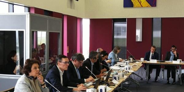 El Ayuntamiento de Sevilla  asume en París la Presidencia  de la Comunidad de  Ciudades Ariane para 2019