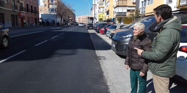 El Ayuntamiento de Sevilla culmina la rehabilitación y eliminación de barreras urbanísticas en la calle  Francisco de Ariño
