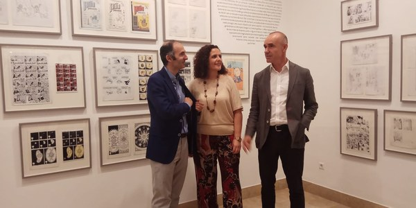 El Ayuntamiento de Sevilla, el Cicus y la Diputación traen a la Casa de la Provincia la exposición 'Premio Nacional de Cómic. 10 años (2007-2017)'