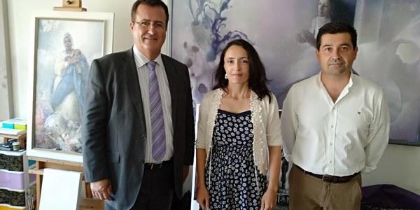 El Ayuntamiento de Sevilla encarga el cartel de las Fiestas de Primavera de 2019 a la pintora Isabel Sola