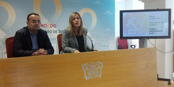 El Ayuntamiento de Sevilla lanza una app para dar a conocer entre la juventud la oferta cultural, formativa y de empleo en la ciudad