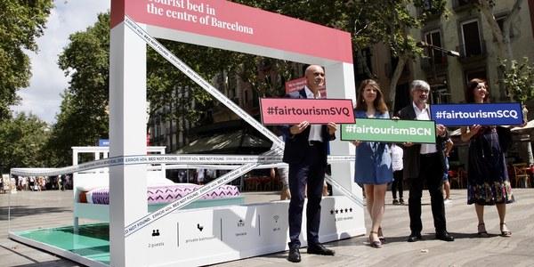 El Ayuntamiento de Sevilla lanza una campaña de información y sensibilización conjunta con Barcelona y Santiago de Compostela contra los pisos turísticos ilegales