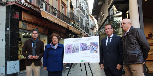 El Ayuntamiento de Sevilla renueva la iluminación de las calles Córdoba, Lineros y Puente y Pellón lo que permitirá un ahorro energético del 75 por ciento