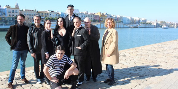 El Ayuntamiento de Sevilla respalda la llegada del musical  'La Familia Addams' que enriquecerá la programación del ICAS para la primavera y en una nueva infraestructura  cultural: Cartuja Center