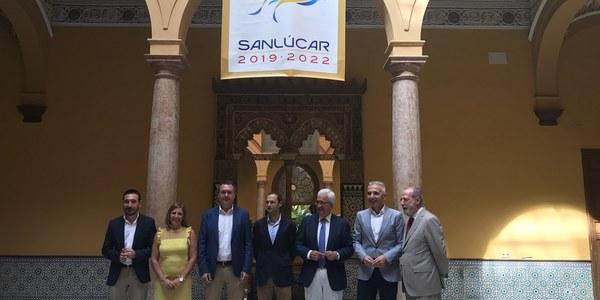 (04/08/17) El Ayuntamiento de Sevilla rubrica el protocolo de colaboración con Sanlúcar de Barrameda, Junta de Andalucía y Diputaciones de Sevilla y Cádiz para la conmemoración de la primera circunnavegación
