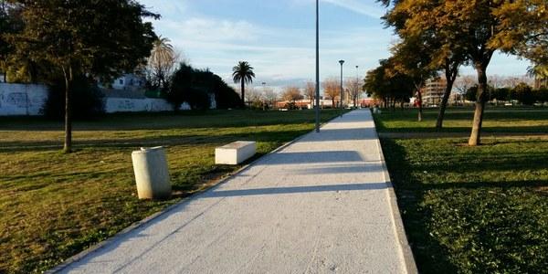 Parques y Jardines ejectura mejoras en el Parque de Hacienda San Antonio