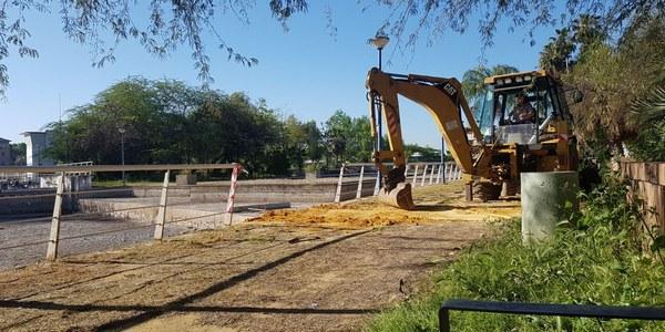 El Ayuntamiento detecta indicios  de que alguien manipuló de forma intencionada el sistema del estanque del Jardín Americano  para vaciarlo y denuncia los  hechos ante el Seprona
