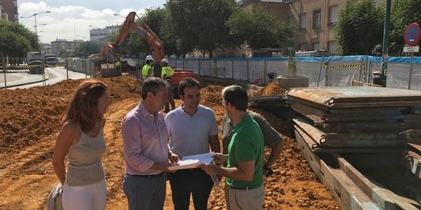 El Ayuntamiento ejecuta obras en el Distrito Macarena por más de 3,5 millones