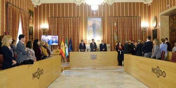 El Ayuntamiento entrega 36 premios de reconocimiento a los mejores expedientes académicos del curso 2016/17 de la Universidad de Sevilla y de la Pablo de Olavide