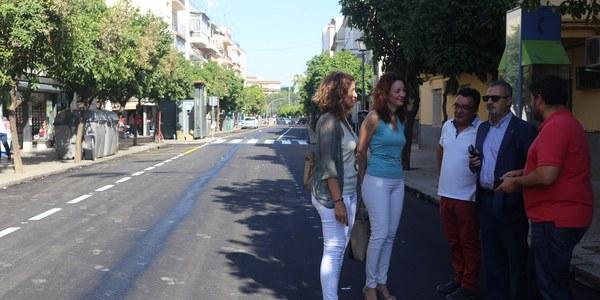 El Ayuntamiento finaliza el arreglo de viales en las barriadas de Pío XII y de La Carrasca del Distrito Macarena con una inversión de 67.000 euros