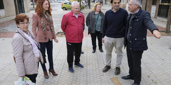 El Ayuntamiento finaliza la reurbanización integral de varias calles de la barriada de El Cerezo, en el Distrito Macarena