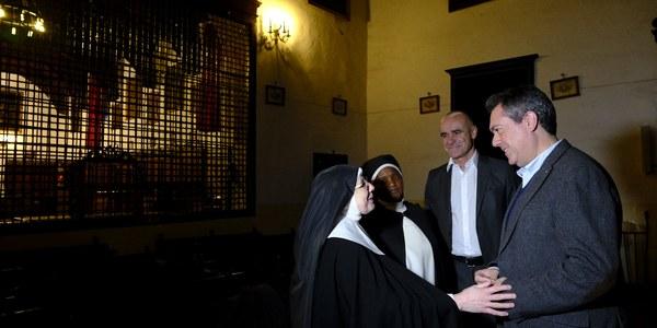 El Ayuntamiento firma el convenio para aportar el 42% de la primera fase de la intervención urgente de restauración de la iglesia del convento Madre de Dios