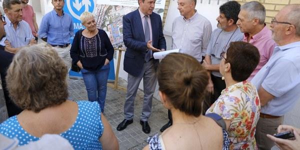 (14/7/2017) El Ayuntamiento impulsa la reurbanización completa del barrio de San Carlos en el Distrito San Pablo-Santa Justa con una inversión de 1,4 millones de euros