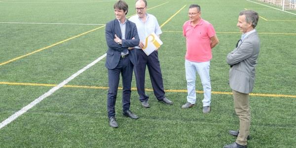 El Ayuntamiento inaugura el nuevo campo de césped artificial del Centro Deportivo Calavera dentro de la inversión de casi 2,5 millones